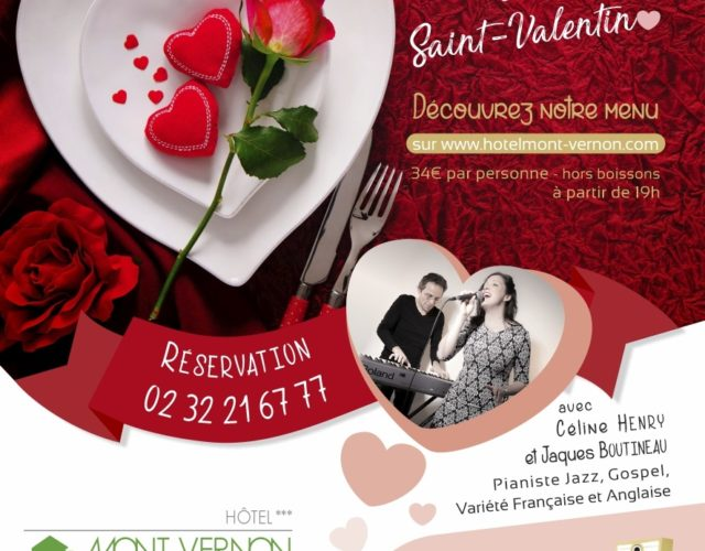 Saint valentin 2020 au Mont Vernon