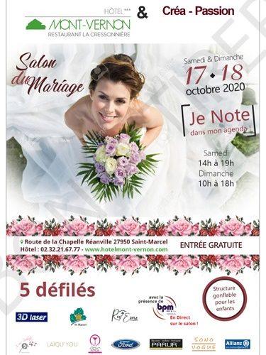 Salon du Mariage au Mont Vernon en 2020